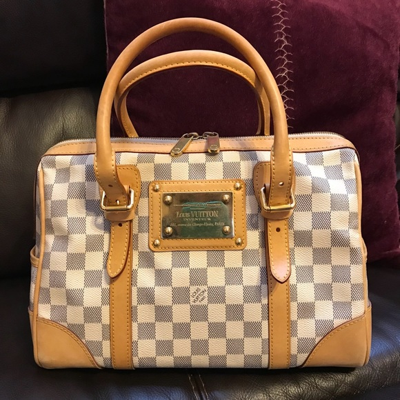 Louis Vuitton Handbags - Louis Vuitton Damier Azur Canvas Berkeley Bag 6e8fd69272f5f